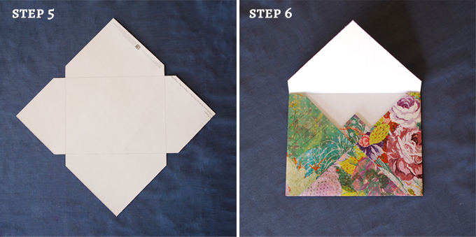 envelope steps