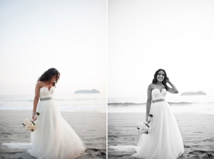 Pink & Gray Beach Wedding | Comfort Studio-03