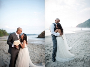 Pink & Gray Beach Wedding | Comfort Studio-10