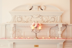 vintage pink DIY wedding | Marissa Moss Photography-16