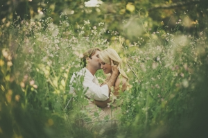 garden spring engagement | wild{whim} design + photography-01