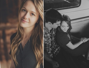 vintage rustic engagement | Cozbi Jean Photography-11