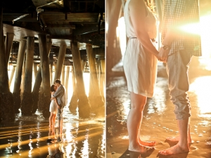 Santa Monica engagement | Lovisa Photo