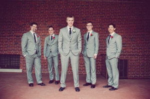 modern red wedding | BRC Photography-10