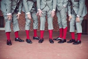 modern red wedding | BRC Photography-11