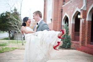 modern red wedding | BRC Photography-19