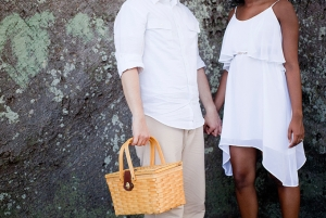 summer picnic engagement | Captured Photography by Jenny