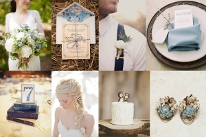 rustic blues | Glamour & Grace
