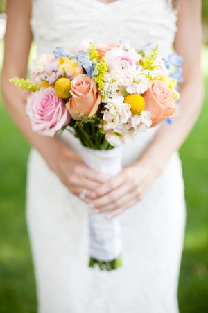 colorful spring wedding | Jen & Chris Creed