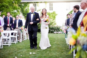 colorful spring wedding | Jen &amp; Chris Creed