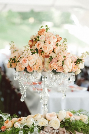 elegant orange summer wedding | Jeff Loves Jessica