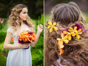 garden bridal shoot | Just For You Photography