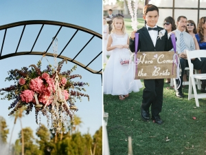 garden theme DIY wedding | Melissa Brandman