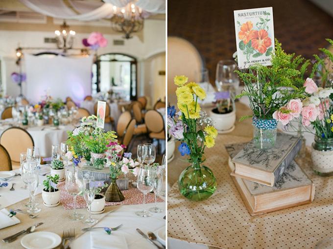 A garden theme diy wedding glamour grace when junglespirit Images