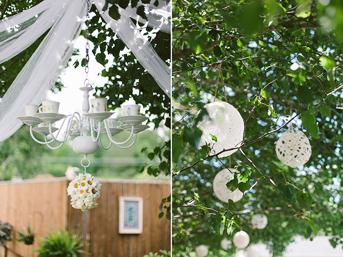 Backyard Wedding Decorations Diy : handmade backyard wedding  Brett & Jessica