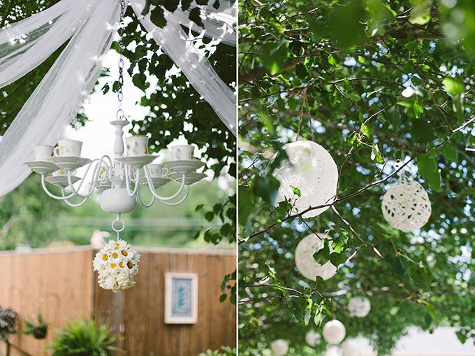 handmade backyard wedding brett jessica