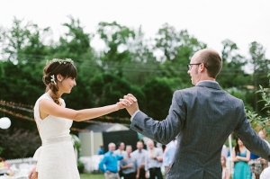 handmade backyard wedding | Brett & Jessica