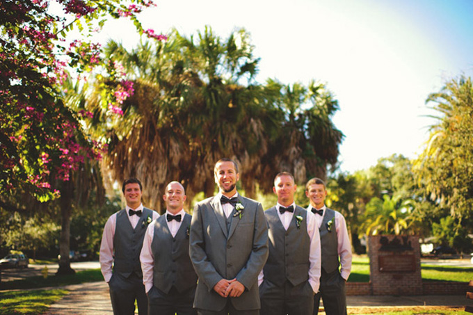 Vintage Beach Wedding Ceremony: A Vintage Surfing Beach Wedding