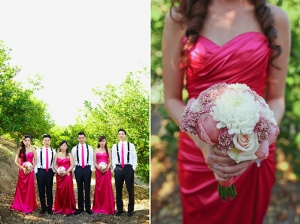 elegant pink wedding | Lovisa Photo