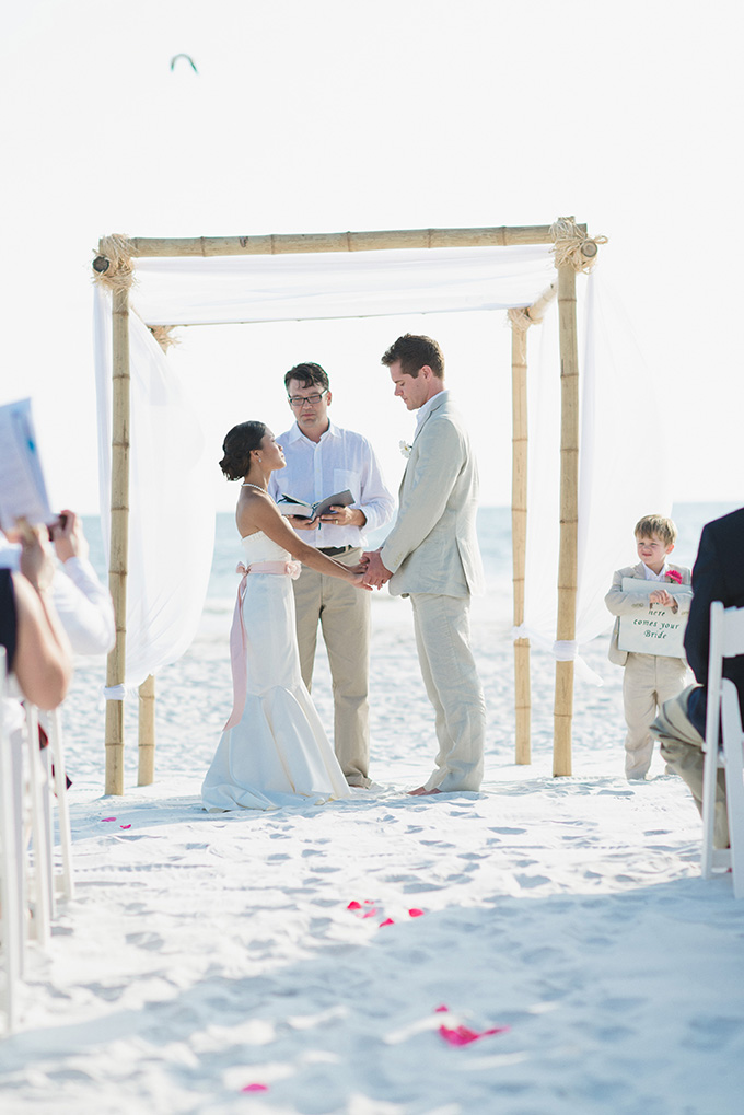 An Intimate Handmade Beach Wedding Glamour Grace
