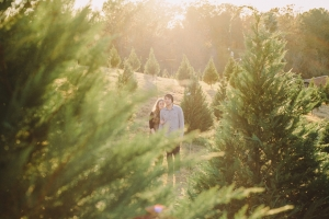 christmas tree engagement | White Rabbit Studios