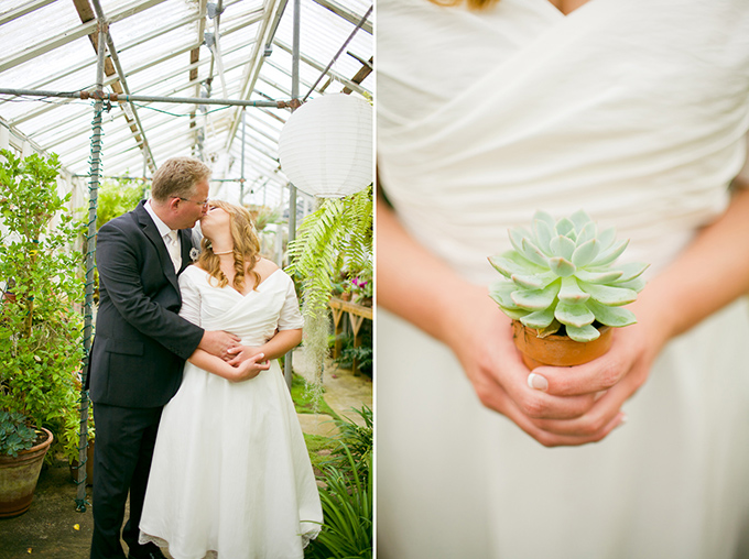 DIY greenhouse wedding | Krista Marie Photography-16