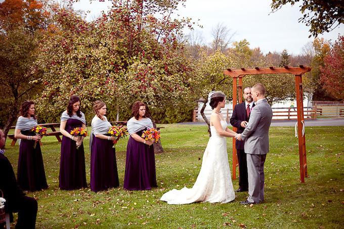 intimate fall wedding   I Heart Photos Studios