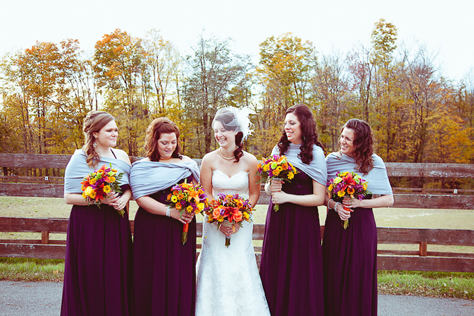 An intimate fall orchard wedding glamour grace intimate fall wedding i heart photos studios junglespirit Gallery