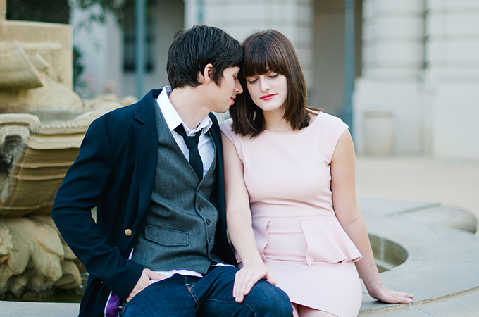 modern garden engagement | Sue Wheelock