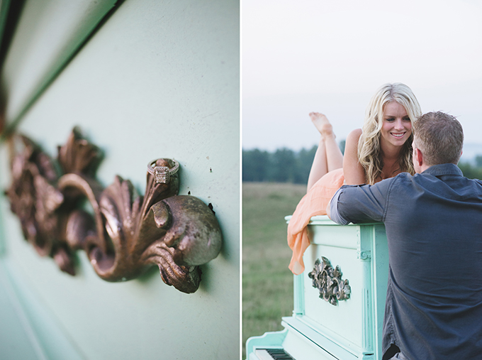 rustic vintage engagement | Jessie Holloway