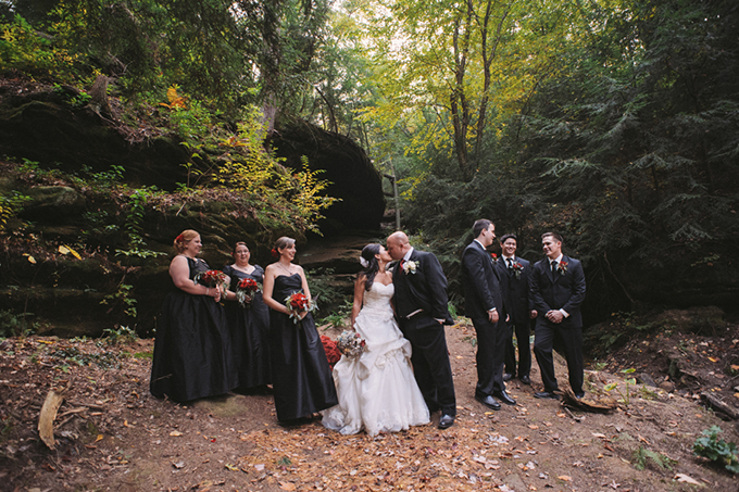 vintage fall wedding | Two Birds Photography