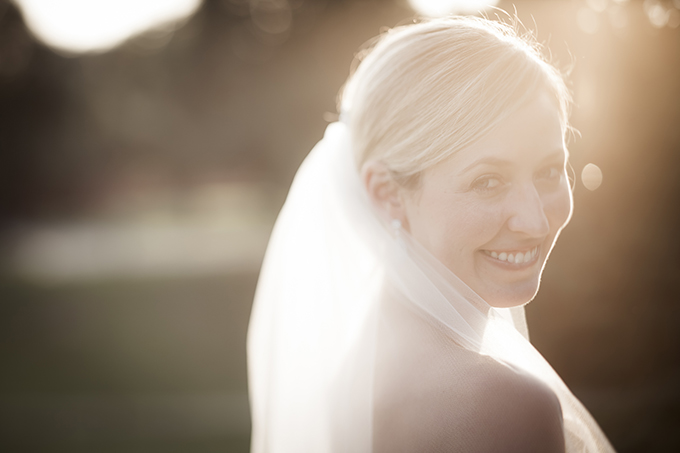 sunset bride | Traci Arney Photography