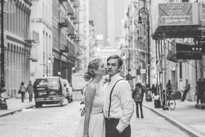 Vintage Soho wedding | JKB Young Photography