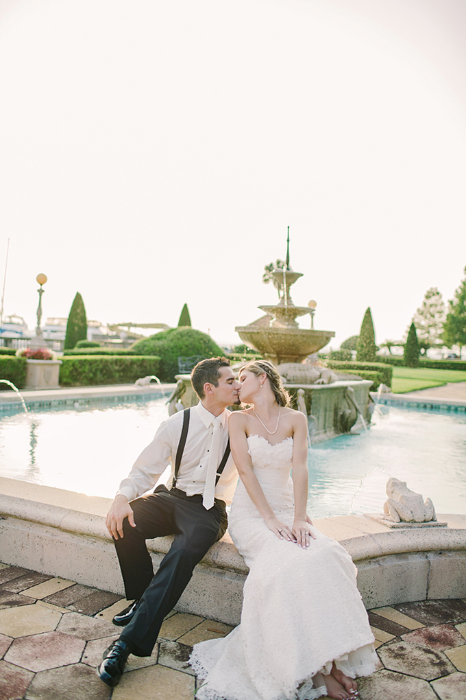 black and white seaside wedding | Brooke Images