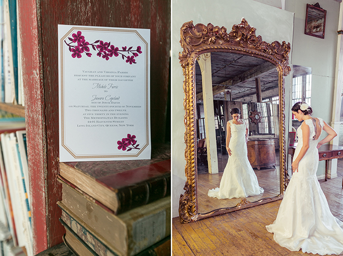 eclectic purple wedding | Sarah Tew Photography