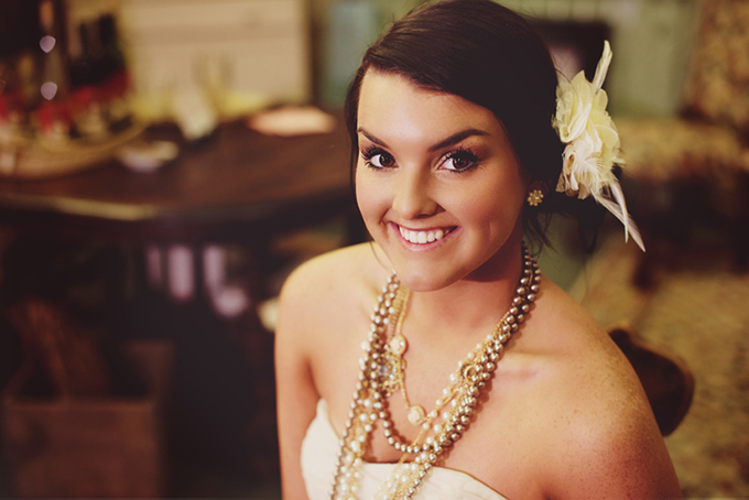 vintage glam bridal session | Bethany Erin Photography