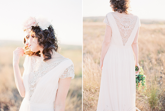 romantic pink wedding inspiration   Michelle March Photography   Glamour & Grace