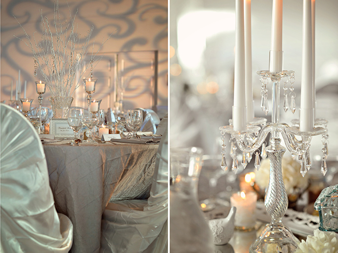 silver and blue vintage glam wedding | Kismis Ink Photography
