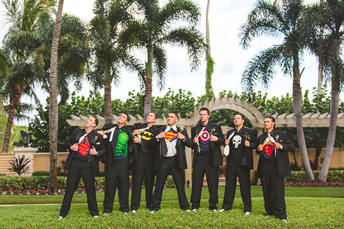 superhero groomsmen | Concept Photography