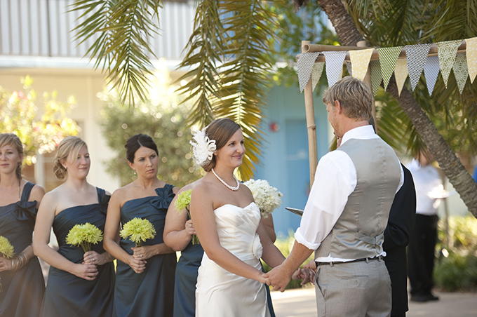 DIY blue & green Florida wedding | Stephanie A Smith