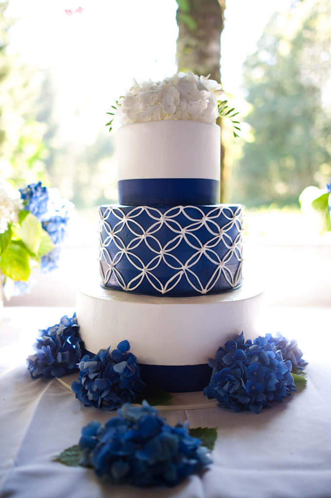 Blue And Yellow Diy Oregon Wedding Glamour Amp Grace