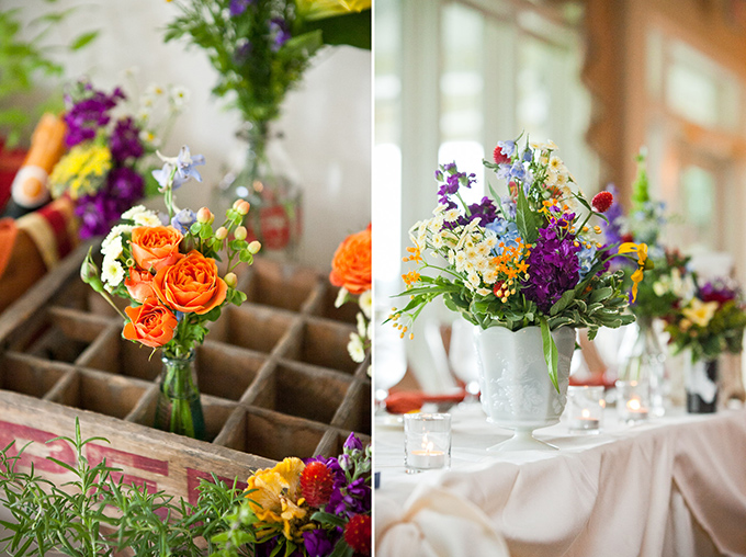 colorful handmade wedding | Sweetwater Portraits