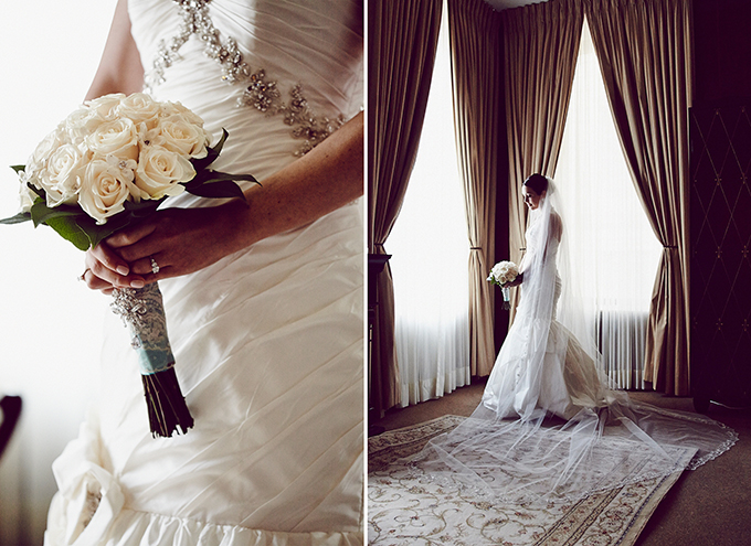 glam black & white wedding | Christina Esteban and Jeremy Bobrow