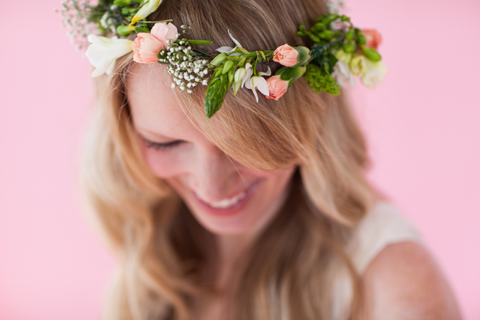pink spring bridal session | The Jon Hartman Photography Co
