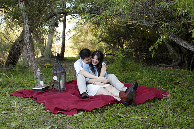 sweet picnic engagement | Cory Kendra Photography