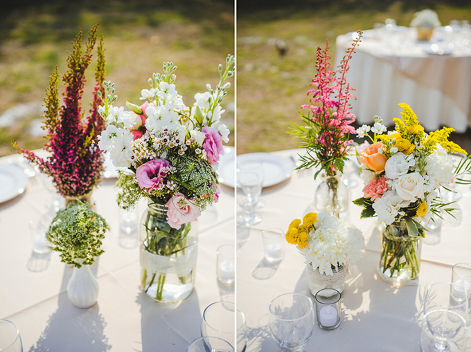 DIY rustic spring wedding | Sunglow Photography