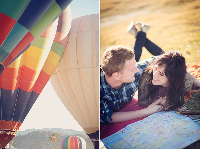 hot air balloon love shoot | Audra Wrisley Photography + Design