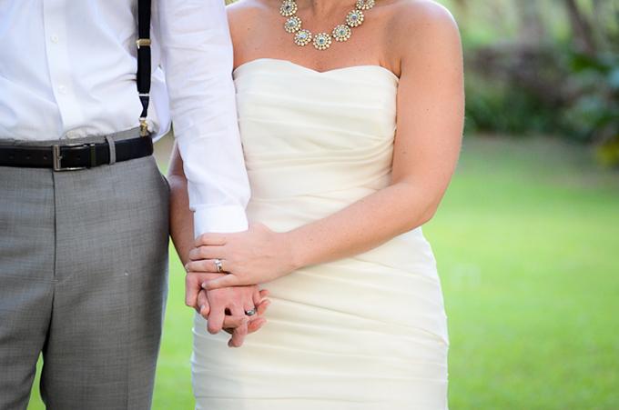 backyard DIY wedding   Kortni Marie Photography