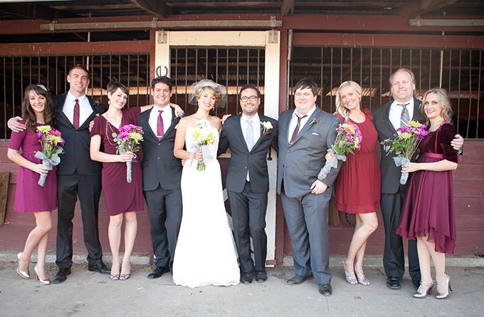 Burgundy Vineyard Wedding Murray Photography