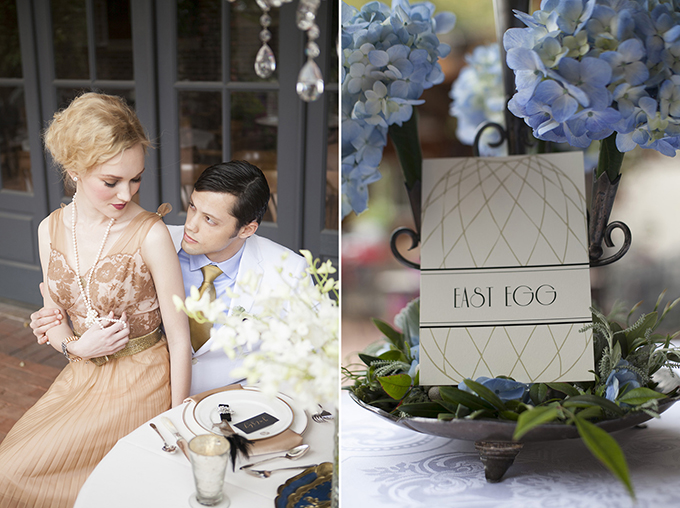 romantic Great Gatsby inspiration | Bethany Boone Photography